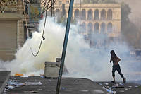 Les affrontements ont commencé sur l'emblématique place Tahrir.