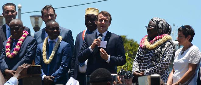 Après Mayotte, le chef de l'État se rend ce mercredi sur l'île de la Réunion.