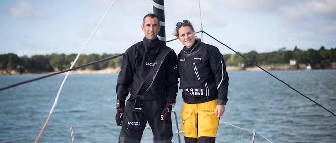 À quelques jours du départ de la Transat Jacques Vabre, «Le Point» a embarqué avec Clarisse Crémer et Armel Le Cléac'h sur l'imoca Banque populaire X à Lorient.
