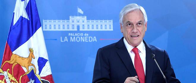 Sebastian Piñera avait proposé lundi de mettre autour d'une table toutes les forces politiques pour trouver une sortie de crise.