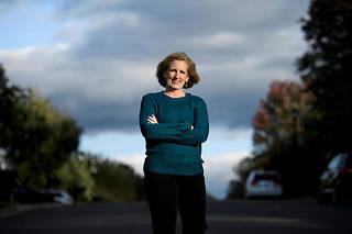 « Je me suis sentie investie d'une responsabilité après avoir hérité d'un mégaphone », explique Juli Briskman.