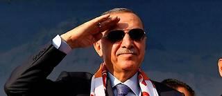 Le président turc, Recep Tayyip Erdogan, le 19octobre à Kayseri (Cappadoce, Turquie).  ©VOLKAN FURUNCU