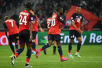Grâce à un but de Jonathan Ikoné dans le temps additionnel, Lille arrache le match nul face à Valence (1-1).