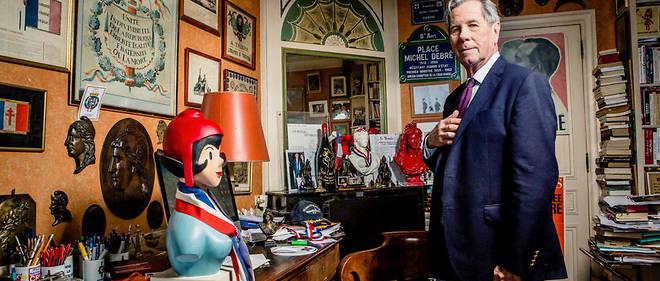 Jean-Louis Debré, à son domicile parisien.
