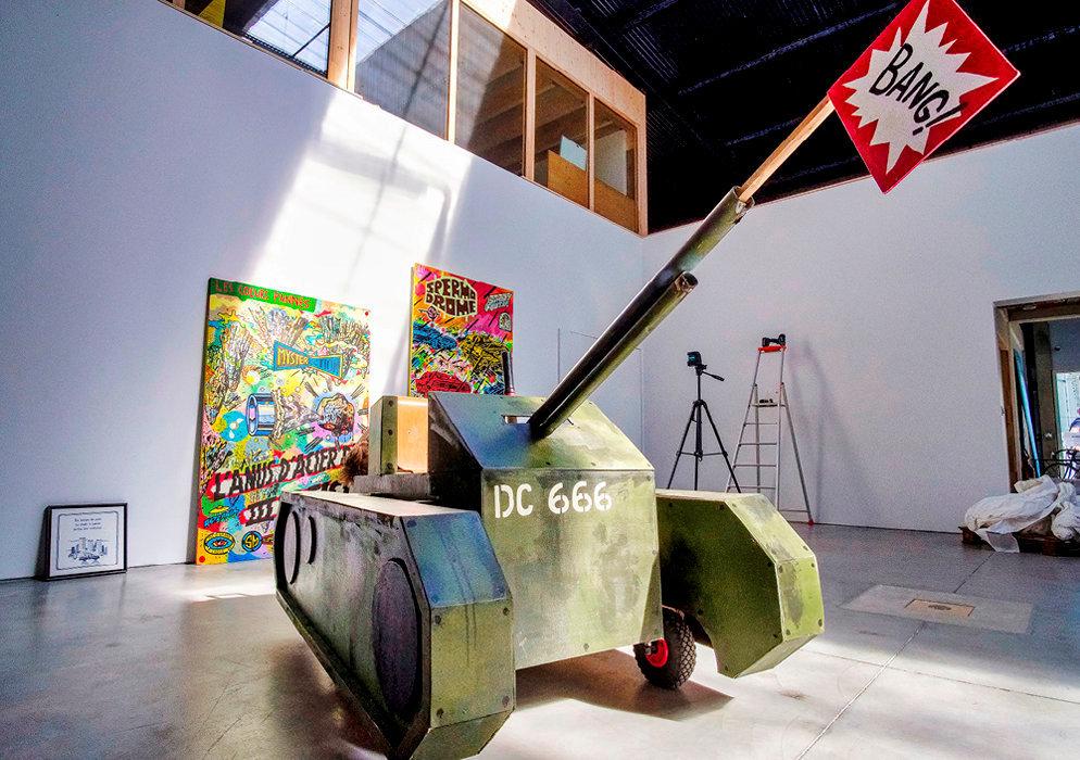 Communautaire. Le Polarium, la salle d'exposition de la Fabrique Pola, installée quai de Brazza depuis septembre.