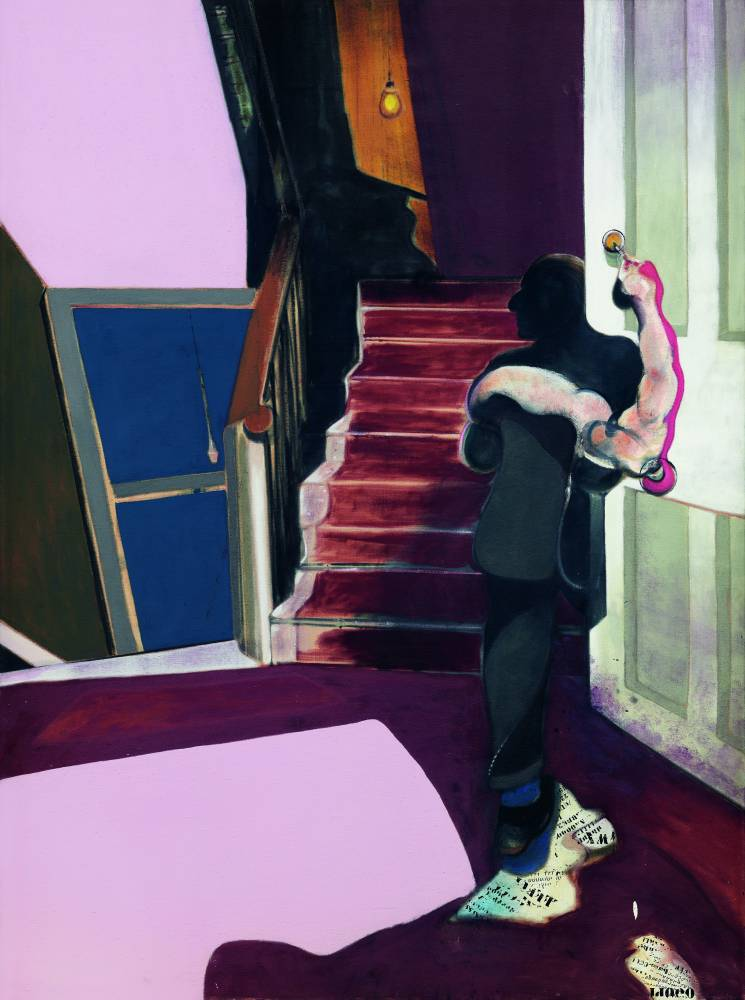 Londres, Grand palais, Francis Bacon, Joan Miro, Georges Pompidou, arts, peinture, suicide, amant, art contemporain  ©  © The Estate of Francis Bacon. All rights reserved. DACS/Artimage 2019. Photo: Hugo Maertens