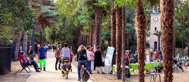 Esplanade végétalisée, passerelles pour les vélos et les piétons… Le maire sortant entend poursuivre la mue de l'île du Ramier.  ©LYDIE LECARPENTIER/REA