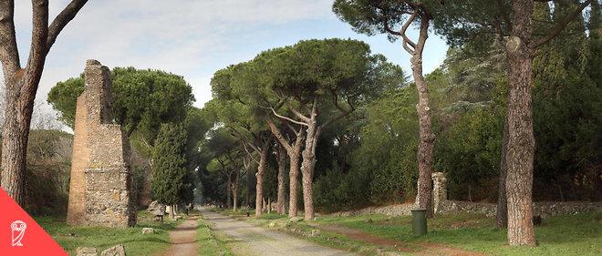 La via Appia a été construite entre 312 et 264 av. J.-C..