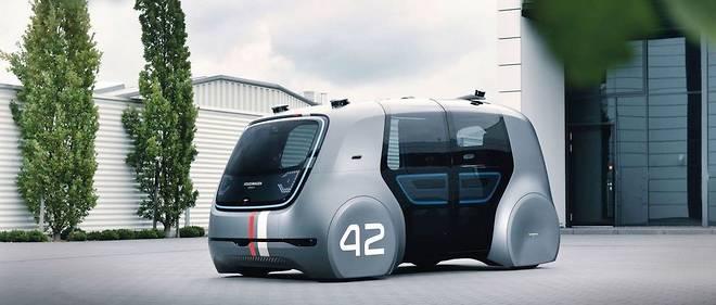 Voiture autonomeVolkswagen.