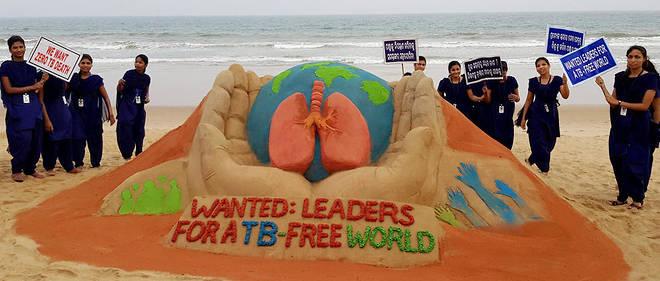 L'Inde est le pays qui compte le plus de cas de tuberculose dans le monde derrière la Chine et l'Indonésie.