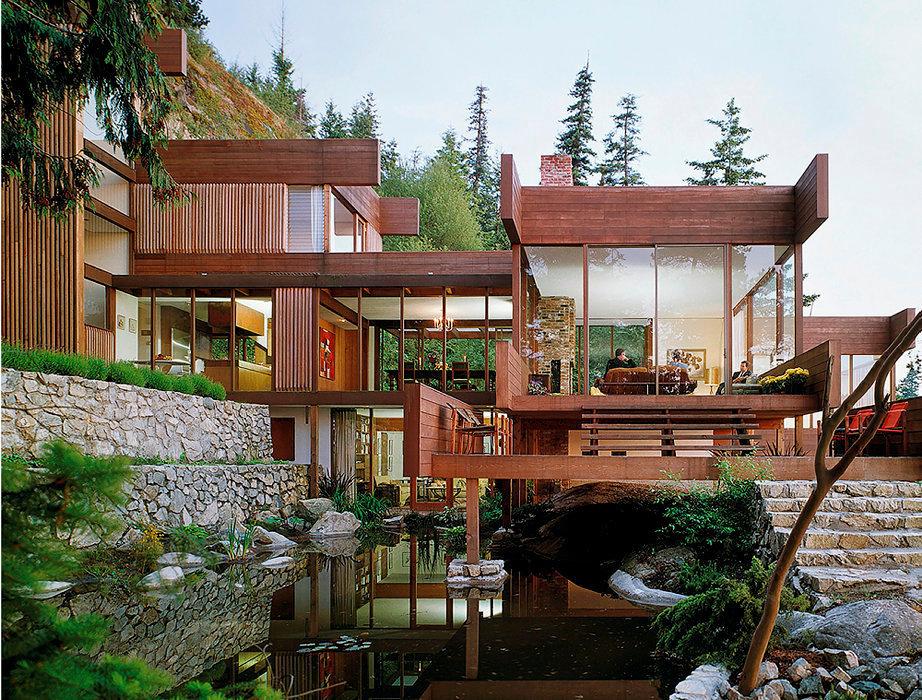 Architecture C Est Une Maison De Reve Accrochee A La Colline Le Point