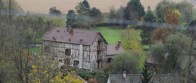 Patrick et Isabelle Balkany ont acheté le moulin de Cossy, à Giverny, en 1986.