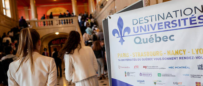 Forum des universités québécoises à la Cité internationale de Paris, le 13 octobre.