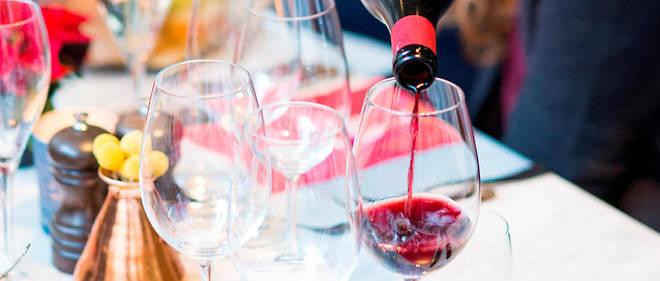 Vin rouge du Val de Loire.