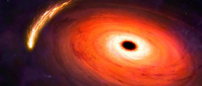 La masse du trou noir potentiellement détecté serait équivalent à 3,3 fois celle du Soleil. (Image d'illustration)