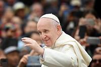 Le pape François au Vatican le 30 octobre 2019.