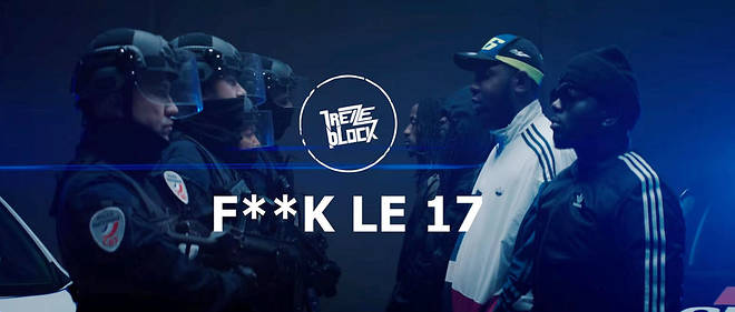 Dans la version finale, le groupe originaire de Sevran (Seine-Saint-Denis) se vante de ses affrontements avec la police.