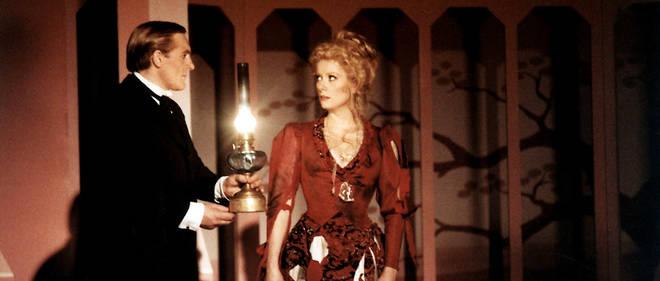 Gérard Depardieu et Catherine Deneuve, jouant la pièce filmée dans «Le Dernier Métro».