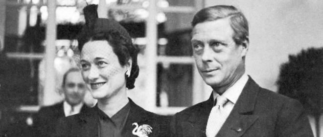 Le duc et la duchesse de Windsor en 1968, après l'abdication d'Édouard VIII.