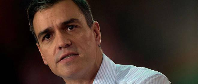 Pedro Sanchez s'est retrouvé sous pression de la droite sur le dossier catalan.