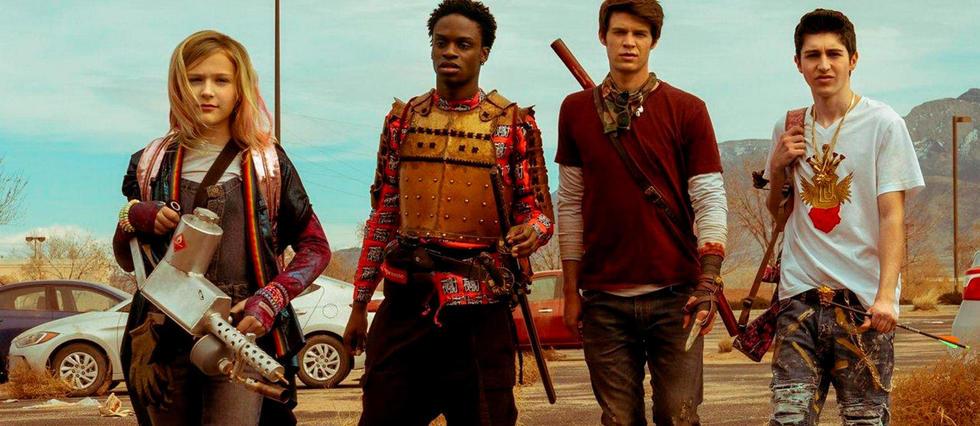 <p>Daybreak, la série post-apocalyptique pour adolescents, à voir sur Netflix.</p>