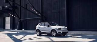 Volvo a choisi un positionnement résolument haut de gamme pour le XC40 Recharge, premier SUV 100 % électrique du constructeur suédois.