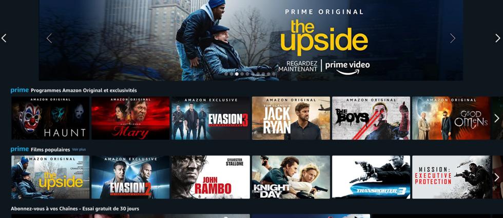 <p>Amazon Prime Video prévoit la création de deux nouvelles séries françaises.</p>