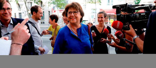Martine Aubry, maire (PS) de Lille.  ©THOMAS SAMSON