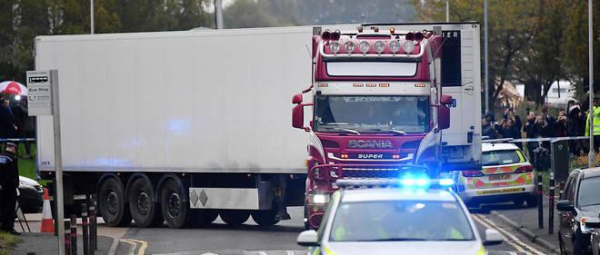 Les corps de 31 femmes et 8 hommes avaient été retrouvés le 23 octobre dans un conteneur, dans l'Essex en Angleterre.