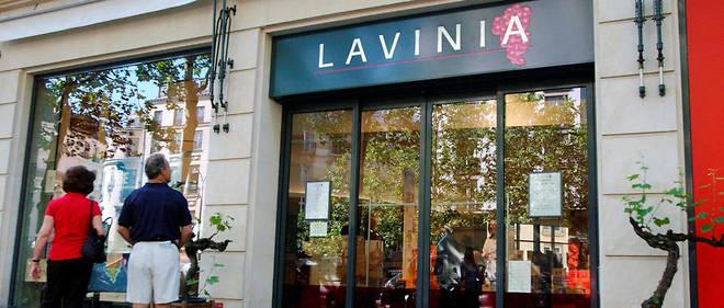 La boutique Lavinia, boulevard de la Madeleine, à Paris.