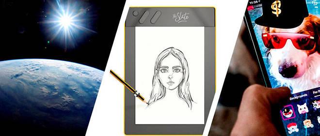 Planète geek - Le stylo qui convertit les notes et les dessins en numérique