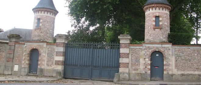 L'entrée du château de Souzy-la-Briche, dans l'Essonne.