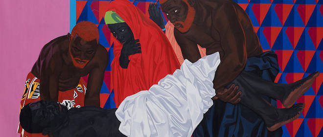 Le tableau «The King Is Dead» du Camerounais Marc Padeu a surpris par l'intérêt qu'il a suscité à la vente aux enchères de la maison Piasa.