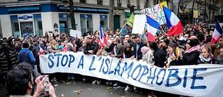 Plusieurs milliers de personnes ont défilé à Paris dimanche 10 novembre 2019, pour lutter contre l'islamophobie.