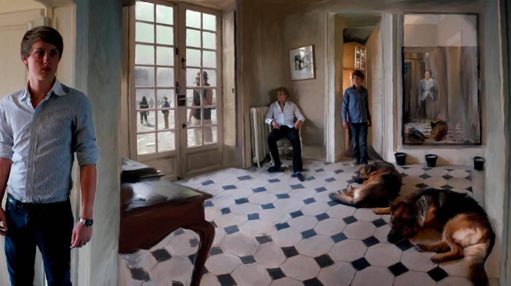 Paris, salon, Photo ©  Bachelot-Caron