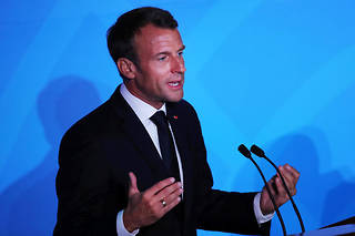 Emmanuel Macron en septembre 2019.