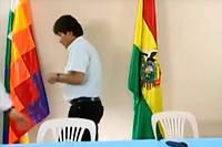 Evo Morales s'est exprimé lors d'une allocution télévisée dimanche.