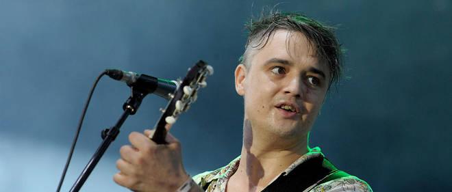 Pete Doherty en concert.