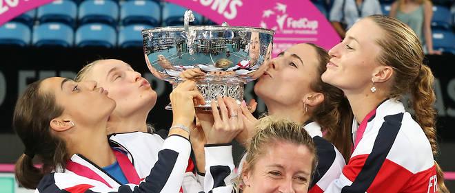 Victoire de l'équipe française à la Fed Cup.