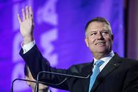 Selon des sondages réalisés à la sortie des urnes, Klaus Iohannis est crédité de 39 % des suffrages exprimés.