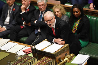 Jeremy Corbyn en octobre 2019.