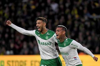 Les Stéphanois ont remporté un match important face à Nantes.