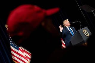 Donald Trump, le 8 novembre 2019.