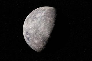 Mercure est la planète qui tourne le plus près du Soleil.