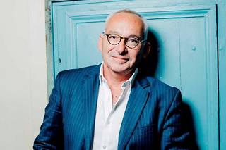 Olivier Frébourg, journaliste, écrivain et fondateur des éditions des Équateurs le 16 octobre 2019.