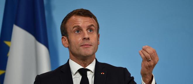 Les Allemands «sont les grands gagnants de la zone euro», selon Emmanuel Macron.