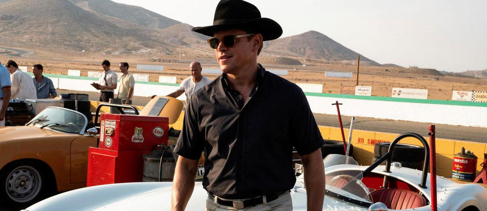 <p>Matt Damon dans le rôle de Carroll Shelby dans Le Mans 66.</p>
