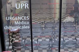 La salle d'attente des urgences médico-chirurgicales de l'hôpital Saint-Antoine (illustration).
