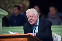 Jimmy Carter est âgé de 95 ans.