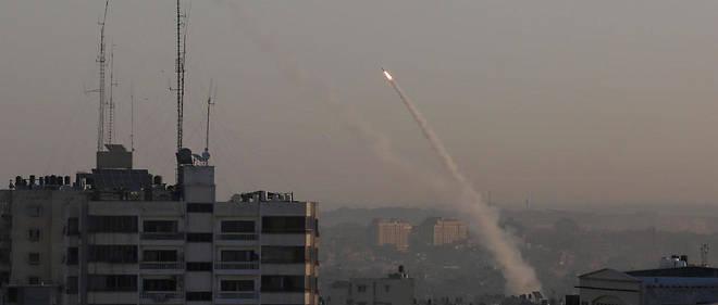 « Il y a eu un nombre important de tirs vers Israël », selon le porte-parole de l'armée israélienne, Jonathan Conricus.